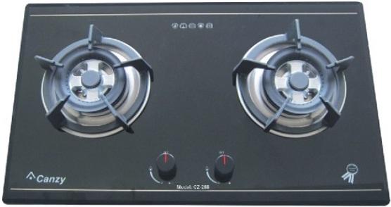 bếp ga âm Canzy CZ 268 đen