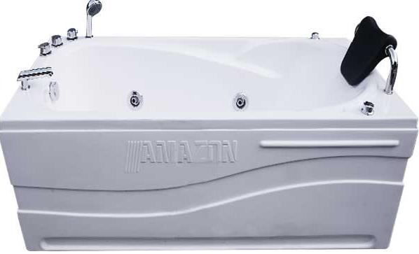 Hình ảnh minh họa kích thước 1m7 của bồn tắm nằm Amazon