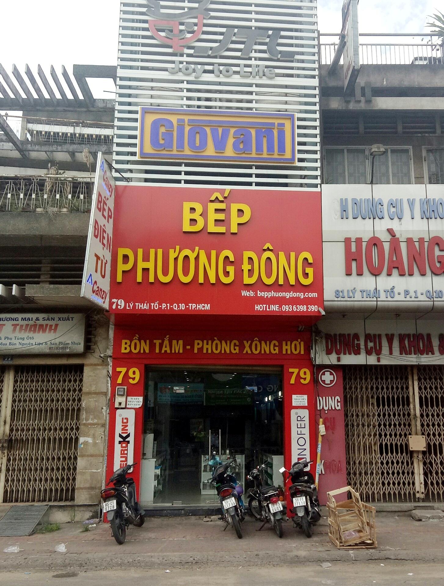 Giới thiệu Bếp Phương Đông 79 Lý Thái Tổ