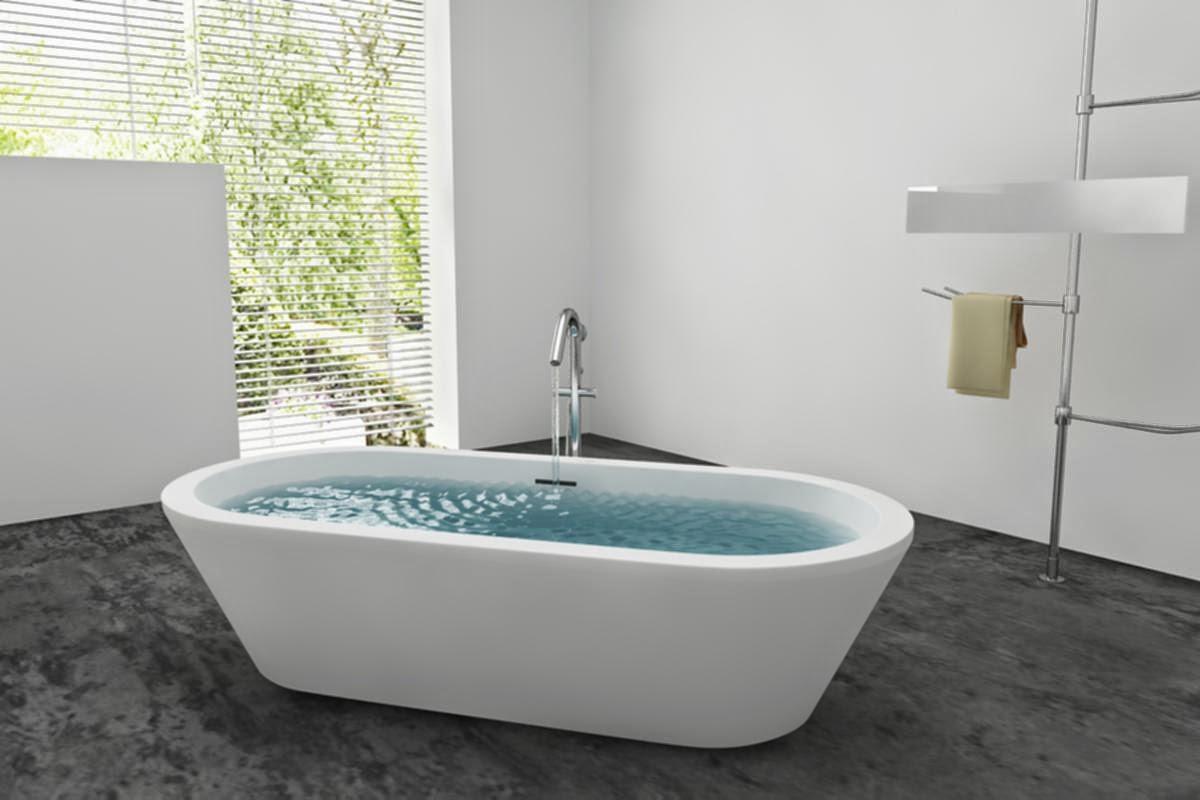 Hình ảnh minh họa bồn tắm nằm