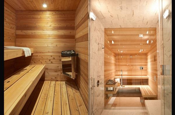 Phòng tắm xông hơi khô